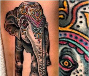 tatuajes elefante -02