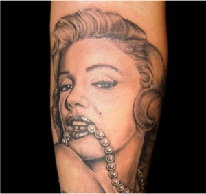 Marilyn-Monroe-Tattoo -02
