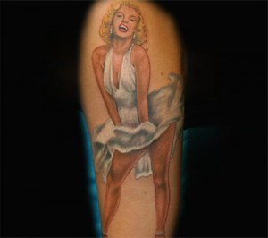 Marilyn-Monroe-Tattoo -03