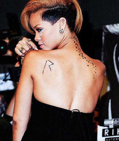 tatuajes de rihanna y sus significados tatuajes con On rihanna tatuajes