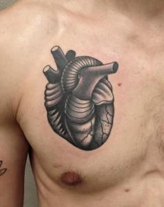 tattos corazones