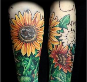 tatuaje de girasol-03