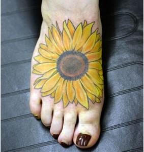 tatuajes de girasol-01